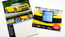Sears Auto Center Hot Rides Calendar